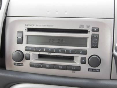 ダイハツ ムーヴラテ 660 X 純正CD&MD