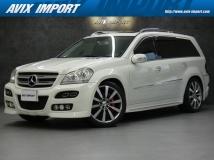 GLクラス GL550 4マチック 4WD ARTエアロ/22AW/マフラ- WSR 黒革 社外ナビ