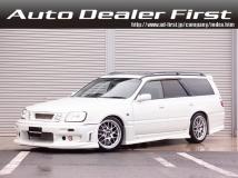 ステージア 2.5 25t RS FOUR V 4WD SD地デジナビ サンルーフ 車高調 BBS18AW