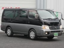 キャラバン 2.0 GX ロングボディ Wエアコン付低床5人乗 当社代車使用 AT車
