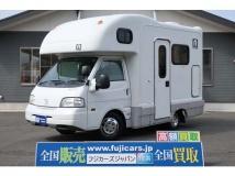 ボンゴトラック キャンピングカー AtoZ アミティ 7名乗車 FFヒーター シンク 冷蔵庫