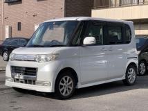 タント 660 カスタム X リミテッド 車検2年含 禁煙車 CD Tチェーン車