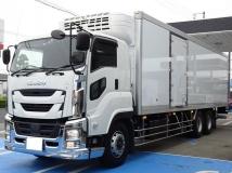ギガ 冷蔵冷凍車 最大積載11.8t 低温 -30度設定 東プレ製冷凍機 新明和PG