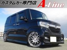 N-BOX 660 G L ターボ ホンダセンシング 車高調17インチ ナビ ETC