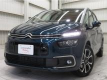 グランドC4スペースツアラー シャイン ブルーHDi ディーゼルターボ 新車保証継承CarPlayGルーフBカメACC