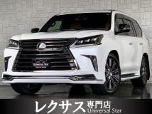 LX 570 ブラック シークエンス 4WD 新品モデリスタエアロ&マフラー/マクレビ