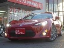 86 2.0 GT リミテッド 車高調・バケットシート・純正ナビTV