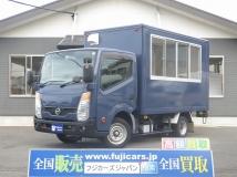 アトラス 移動販売車 キッチンカー ベース 新規架装車 換気扇 サッシ窓 外部電源