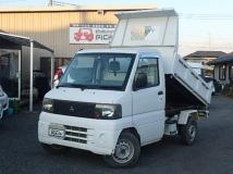 ミニキャブトラック 660 楽床ダンプ 4WD 油圧式 三方開 Hi-Lo切替式 5速MT