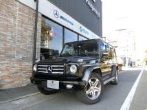 Gクラス G55 ロング 4WD D車 ヤナセ整備記録11枚有