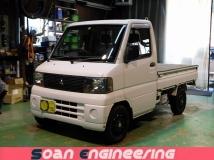 ミニキャブトラック 660 Vタイプ 4WD 検R5/2 切り替式4駆 3AT フロアシフト