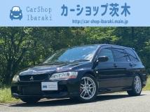 ランサーエボリューションワゴン 2.0 GT 4WD 1オ-ナ-6速MT純正レカロLSD300キロメ-タ-