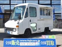 ダイナアーバンサポーター 移動販売車 キッチンカー 跳上式販売口 シンク 8ナンバー加工