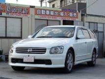 ステージア 2.5 250t RX FOUR 4WD パワーシート キーレス ターボ車  4WD 114