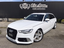 A6アバント 2.8 FSI クワトロ 4WD RS6仕様エアロ 19AW KWサス 黒革 正規D車