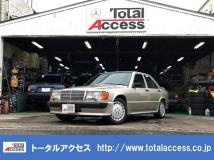 190クラス 190E 2.3-16 マニュアル車両