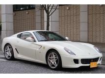 599 F1 ディーラー車 レッドレザー 社外ナビ/TV