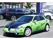 アルファ156 2.5 V6 24V フルセグナビTV タイベル交換済フルエアロ