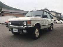 レンジローバー バンデンプラ 4WD ホワイトボディ全塗装済エアコン修理済