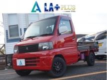 ミニキャブトラック 660 VX-SE エアコン付 赤黒オリジナルペイント/Tベルト交換済