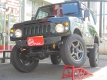ジムニー 660 フィッシングマスター 4WD リフトUP・社外バンパー&アルミ・木目