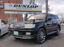ランドクルーザー100 VX-LTD 4WD 1ナンバー登録 サンルーフ/キーレス/アルミホイール